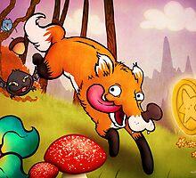 Safaris Fox by unihorse