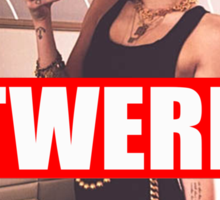 Miley Cyrus Twerk Team Fresh New Sticker