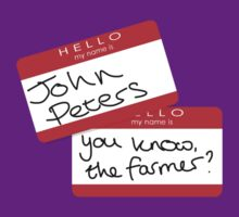 John Peters - you know, the farmer? by Katy177