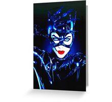 Michelle Pfeiffer in Batman Returns Greeting Card