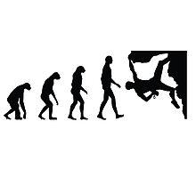 Evolution Climbing Photographic Print