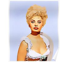 Sophia Loren in Heller in Pink Tights Poster