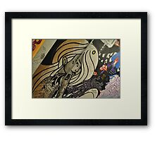 The Camden Lady  Framed Print