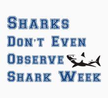Community - Shark Week Shirt by marinemusician