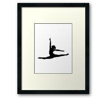 Ballet Dancer Ballerina Framed Print