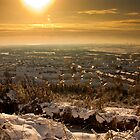 Snow over Portsmouth by thermosoflask