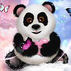 Panda Bear Dreams - On Cloud 9 by soaringanchor