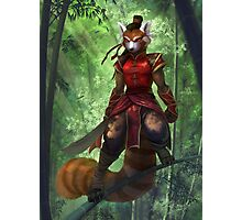 Bamboo Warrior Photographic Print