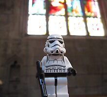 Dave Stormtrooper at Church by apawdesign