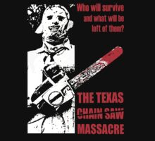 TEXAS CHAINSAW MASSACRE 1974 T SHIRT Leatherface by BETAVILLE TEE'S