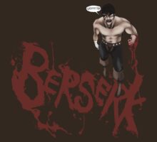 Berserk: Guts Shirt Design by GUNHOUND