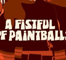 A fist full Sticker