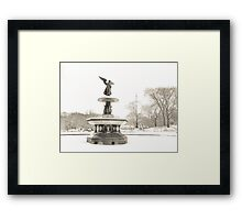 Angel of the Waters - Bethesda Fountain - Central Park Framed Print