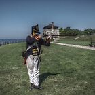 Fort Niagara - Blue Coat by KBelleau