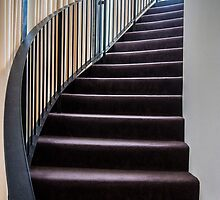 Curved Stair. by Bette Devine
