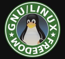 Tux : GNU/LINUX FREEDOM by Arthur Reeder