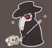 plague doctor-chan by sharkgills