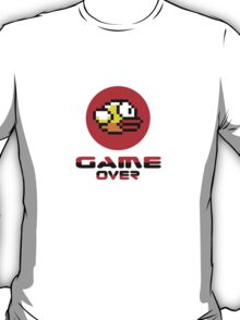 Flappy Bird - Dong iPhone Game-Over T-Shirt T-Shirt