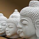 3 Variants of Buddha by Arie Koene