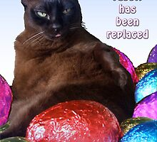 The Easter Cat by amanda metalcat