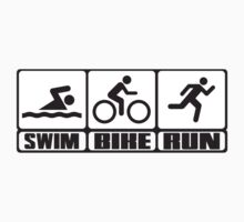Triathlon: Swim + Bike + Run by nektarinchen