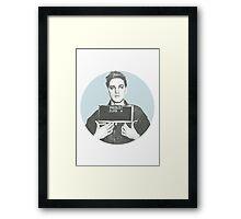Elvis Mugshot Framed Print