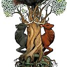 Yggdrasil by kickingshoes