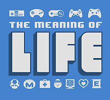 Meaning of Life = Gaming by thehookshot