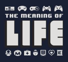 Meaning of Life = Gaming Kids Clothes