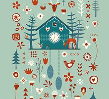 Cuckoo Clock by Nic Squirrell