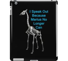 I Speak Out Because Marius No Longer Can, T Shirts & Hoodies. ipad & iphone cases iPad Case/Skin