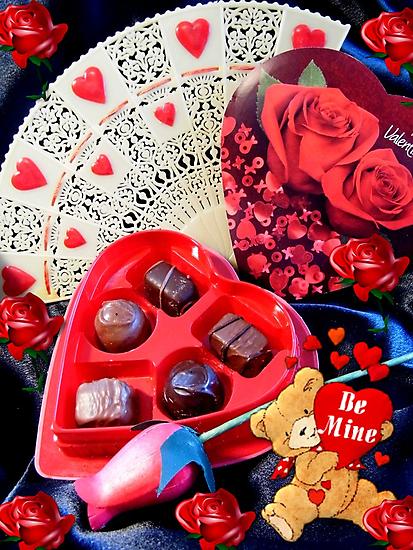 Valentines Candy by WildestArt