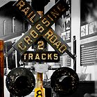 Rail Road Warning by DeeZ (D L Honeycutt)