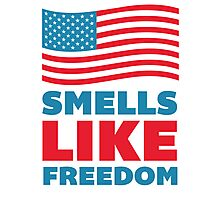 Smells Like Freedom Photographic Print