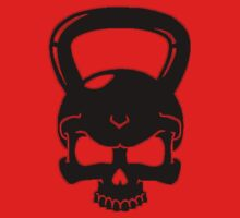Kettlebell Skull Black by zacharyskaplan