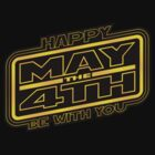 Happy May the 4th! (Yellow-Tilted) by justinglen75