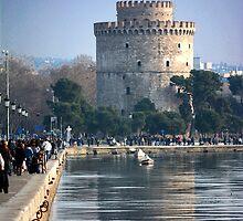 White Tower by Tasos Triantafyllou