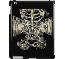 Stomach full of useless butterflies iPad Case/Skin