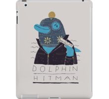 dolphin hitman iPad Case/Skin