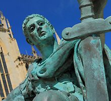 Emperor Constantine - York Minster  by sean-gibson