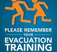 Evacuation Training by Balázs Németh