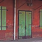 Behind the Green Door by Buckwhite