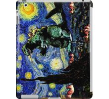 Godzilla versus Starry Night iPad Case/Skin