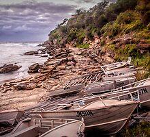 Gordon Bay boats by Chris Brunton