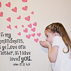Love One Another - John 15:12 by Sue Ellen Thompson