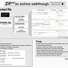 ZIP101 an archive walkthrough (Pro version) by Ange Albertini