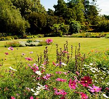 Brodick Castle Gardens by English Landscape Prints