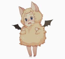 Fluffy bat!john sticker by Pchi