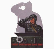 Vintage USSR Soviet Tank Commander by kustom