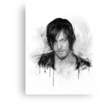Twd Daryl Dixon Canvas Print